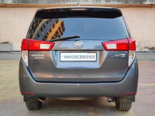 2016 Toyota Innova Crysta 2.8 GX AT in Mumbai