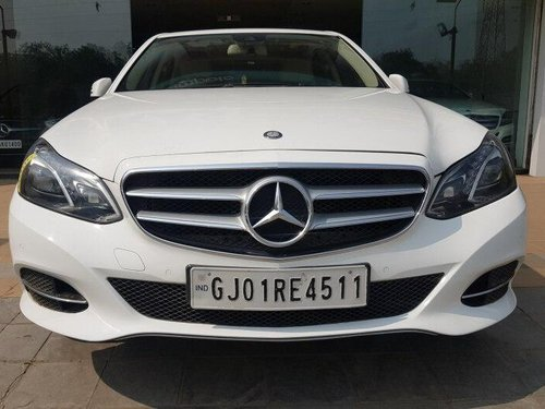 Used Mercedes Benz E Class 2014 AT for sale in Ahmedabad