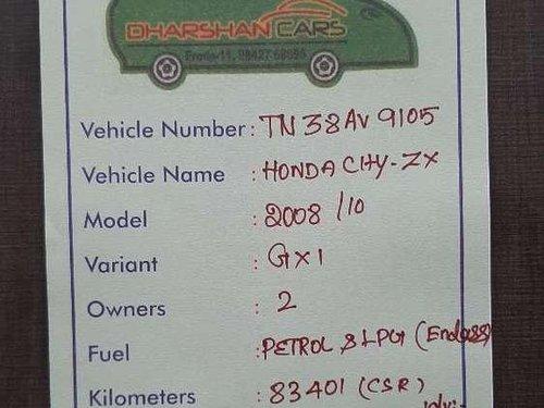 Honda City ZX EXi 2008 MT for sale in Erode