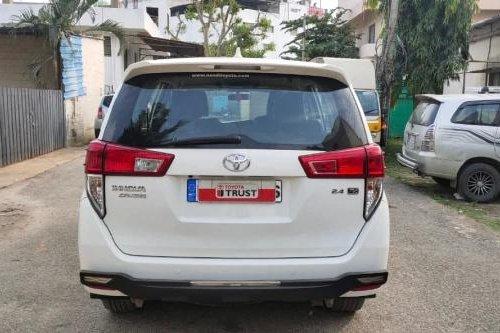 2017 Toyota Innova Crysta 2.4 ZX 7 STR MT in Bangalore