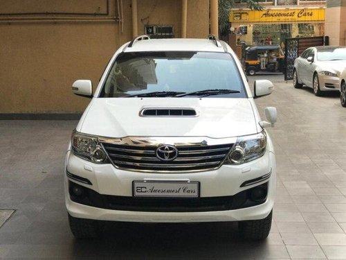 2015 Toyota Fortuner 4x4 MT for sale in Mumbai