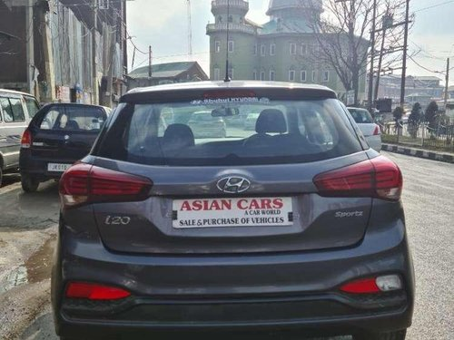 Used Hyundai i20 Sportz 1.2 2018 MT for sale in Srinagar