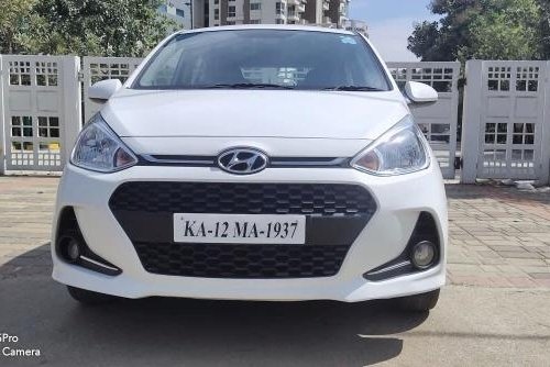 2017 Hyundai Grand i10 1.2 Kappa Sportz MT in Bangalore