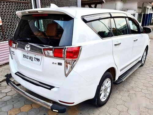 Used Toyota Innova Crysta 2016 AT for sale in Hyderabad
