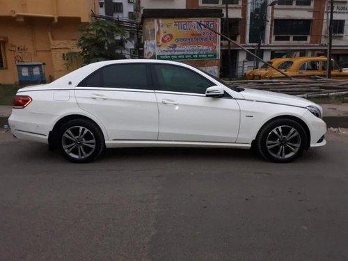 2016 Mercedes-Benz E-Class E 220 CDI Avantgarde AT in Kolkata