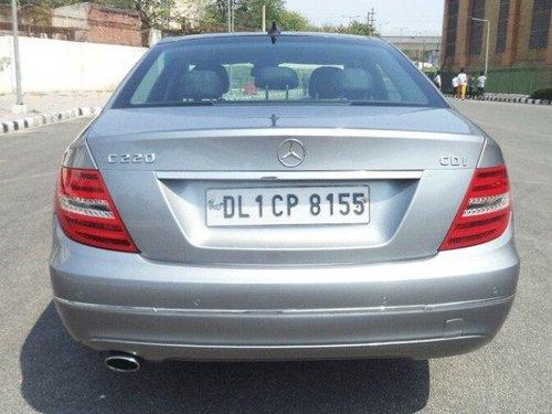 2013 Mercedes Benz C-Class C 220 CDI BE Avantgare AT in New Delhi