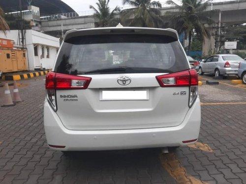 2016 Toyota Innova Crysta 2.4 ZX BSIV MT in Bangalore