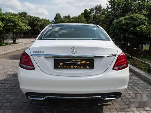 Used Mercedes Benz C-Class C 200 CDI Style 2017 AT in Hyderabad