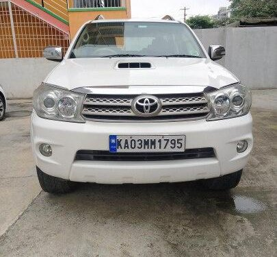 2010 Toyota Fortuner 3.0 Diesel MT for sale in Bangalore