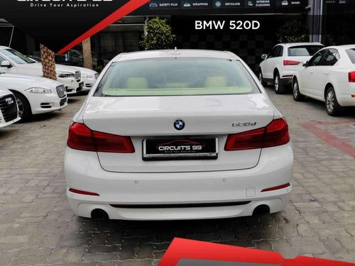 Used 2017 BMW 5 Series AT for sale in Pondicherry