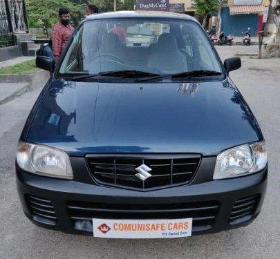 2012 Maruti Suzuki Alto MT for sale in Bangalore