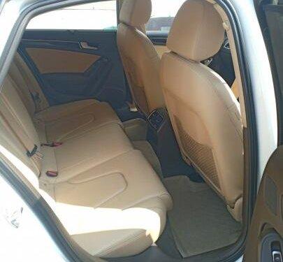 2013 Audi A4 2.0 TDI Multitronic AT in Pune