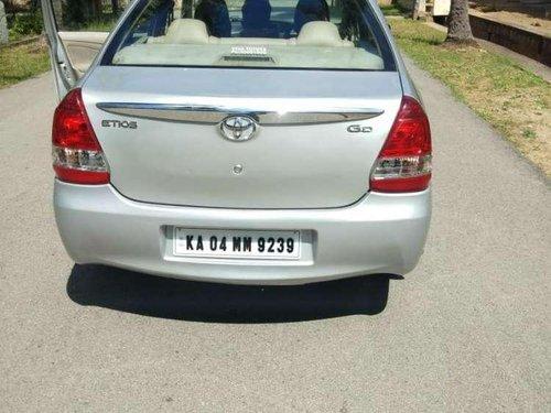 Used Toyota Etios 2013 MT for sale in Channarayapatna
