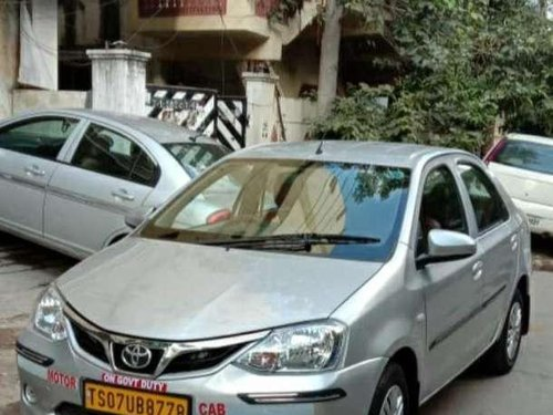Toyota Etios GD SP, 2016, MT for sale in Hyderabad