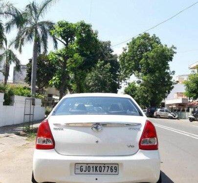 Toyota Platinum Etios 2012 MT for sale in Ahmedabad