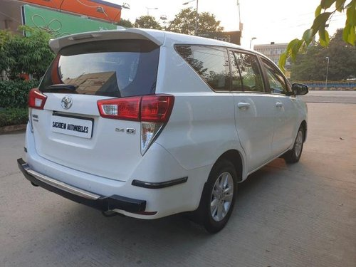 Used 2017 Toyota Innova Crysta MT for sale in Indore