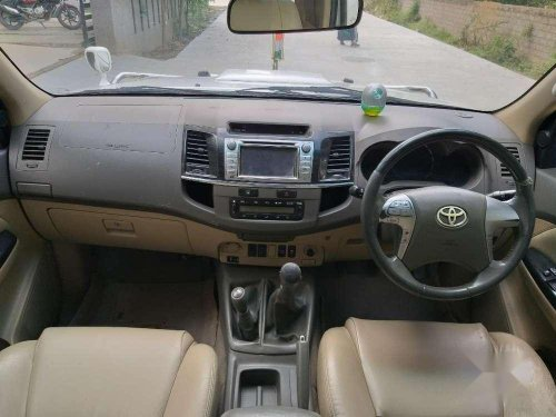 Used Toyota Fortuner 2012 MT for sale in Hyderabad