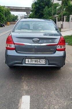 Toyota Platinum Etios 1.4 VD 2017 MT for sale in Ahmedabad