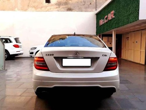 Used Mercedes Benz C-Class 220 2013 AT for sale in Gurgaon -0