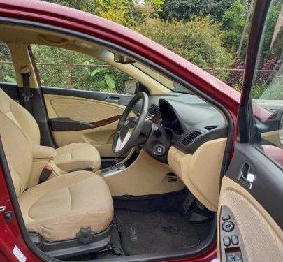 2014 Hyundai Verna SX CRDi AT for sale in Bangalore