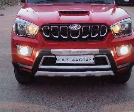 Used Mahindra Scorpio 2017 MT for sale in Bhopal