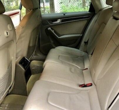 Used 2012 Audi A4 2.0 TDI AT for sale in Pune