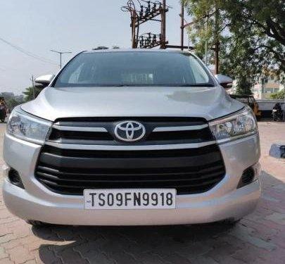Used 2017 Toyota Innova Crysta 2.4 GX MT in Hyderabad