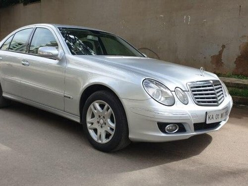 2008 Mercedes Benz E Class AT for sale in Bangalore