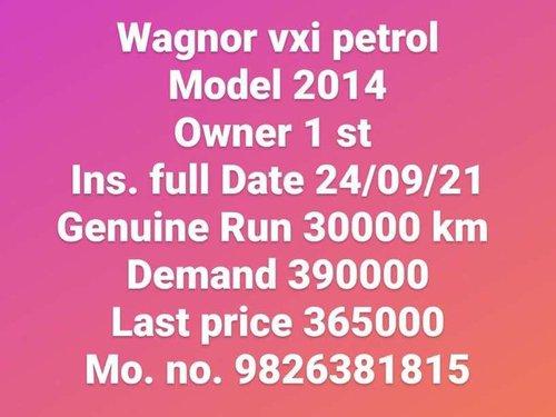 2014 Maruti Suzuki Wagon R VXI MT for sale in Indore