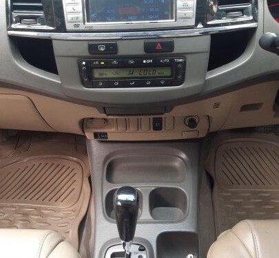 2013 Toyota Fortuner 4x2 AT TRD Sportivo in Mumbai