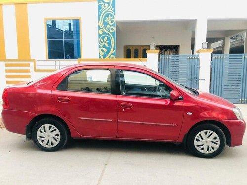 Toyota Platinum Etios 2012 MT in Hyderabad