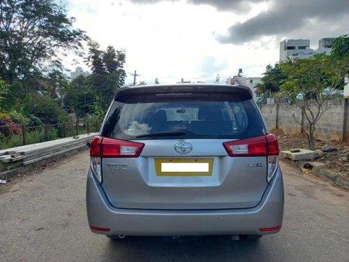 2017 Toyota Innova Crysta 2.7 GX MT in Bangalore