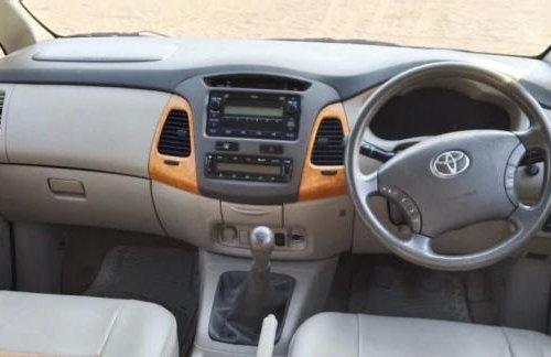 2011 Toyota Innova 2.5 V Diesel 7-seater MT in Ahmedabad