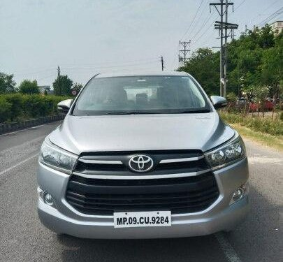 Used 2016 Toyota Innova Crysta MT for sale in Bhopal