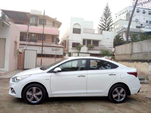 Used 2019 Hyundai Verna CRDi AT in Coimbatore