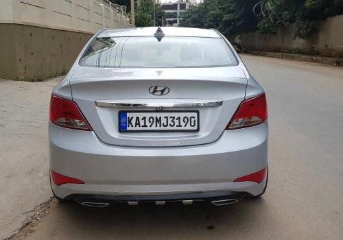 2017 Hyundai Verna 1.6 SX VTVT MT for sale in Bangalore