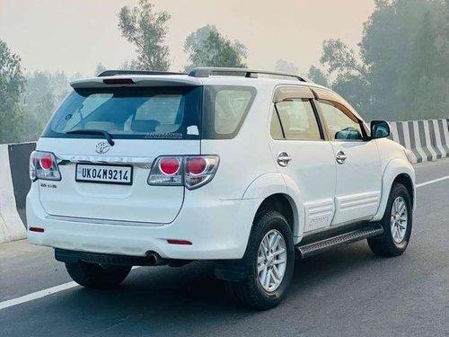 Used Toyota Fortuner 2012 MT for sale in Dehradun