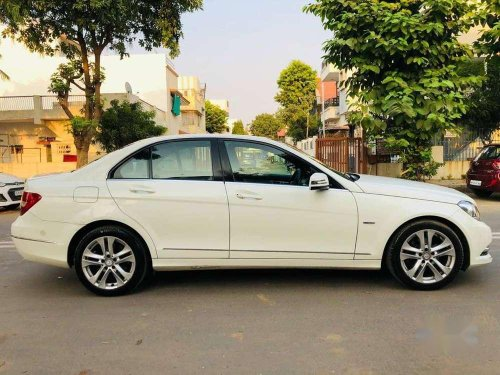 Mercedes-Benz C-Class 220 BlueEfficiency, 2013, Diesel AT in Ahmedabad