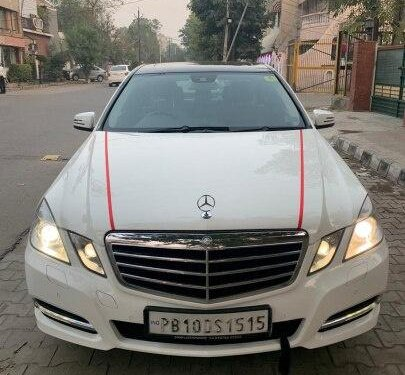 Used Mercedes Benz E Class 2013 AT for sale in Ludhiana -12