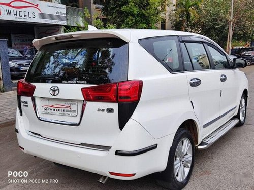 2016 Toyota Innova Crysta 2.8 ZX AT in Mumbai