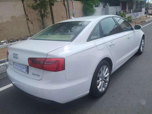Audi A6 2.0 TDI 2013 AT for sale in Hyderabad