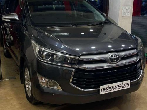 Used 2016 Toyota Innova Crysta MT for sale in Pathankot