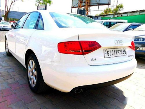 Used Audi A4 2.0 TDI 2012 AT for sale in Ahmedabad