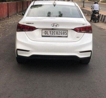 Used Hyundai Verna 2018 MT for sale in New Delhi