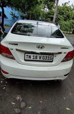 Used Hyundai Verna 1.6 SX CRDi 2012 MT for sale in Chennai