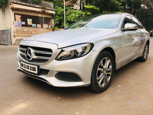 Used 2015 Mercedes Benz C-Class 220 AT for sale in Pune