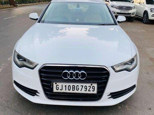 Audi A6 2.0 TDI Premium, 2013, AT for sale in Ahmedabad