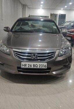 Used 2012 Honda Accord AT for sale in Gurgaon