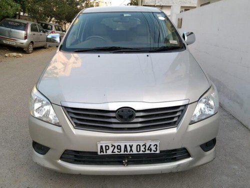 Used Toyota Innova 2012 MT for sale in Hyderabad