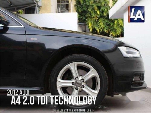 Used Audi A4 2.0 TDi 2012 AT for sale in Kolkata